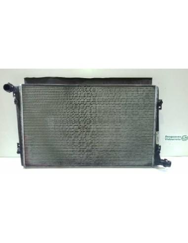 Recambio de radiador agua para seat leon (1p1) 1.9 tdi referencia OEM IAM 1K0121251AK